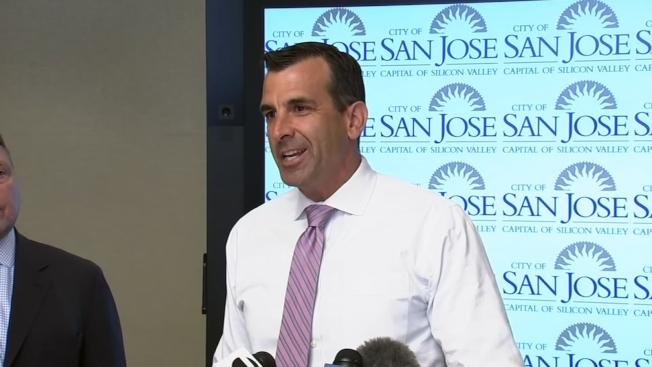聖荷西市長李卡多已要市府研究和放棄PG&E,另找電力供應來源。(電視新聞截圖)