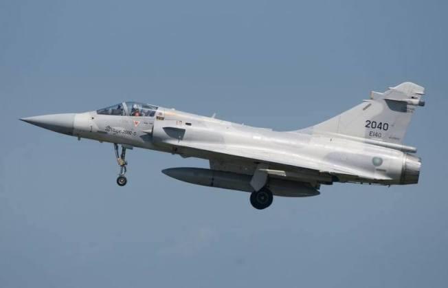 一架幻象2000戰機2017年11月7日在彭佳嶼以北失事,沉海兩年黑盒子終於被尋獲。(圖:空軍提供)