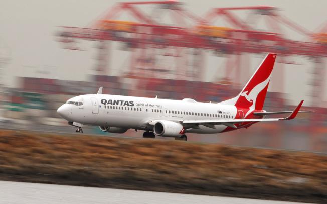 澳洲航空(Qantas)即將測試從紐約飛雪梨的19小時直飛航班。(路透)
