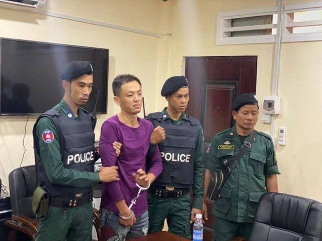 Zhou YaYun因殺害Wu ChengHui被逮捕。(翻翻自popular.com.kh)
