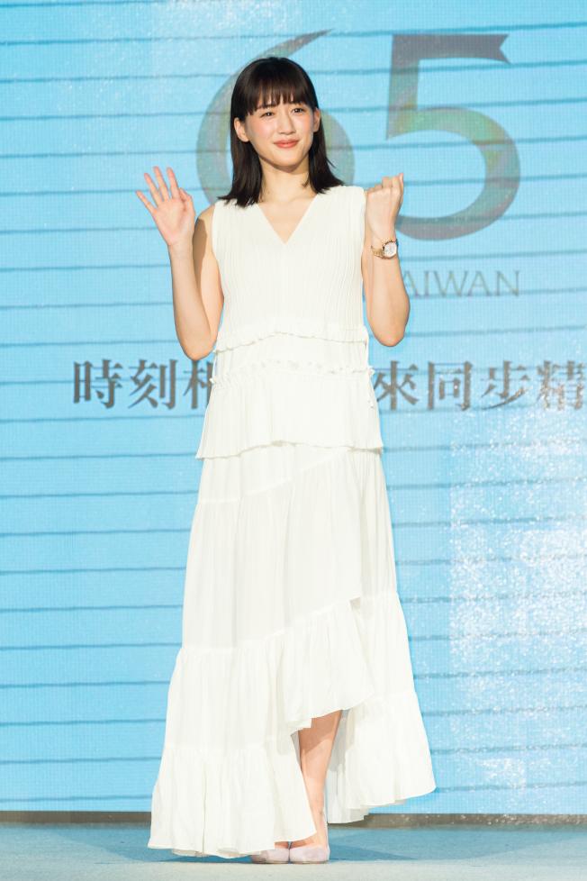 綾瀨遙擁有好身材,但近年少有性感演出。(本報資料照片)