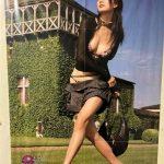 爆乳、褲子穿一半…林志玲絕版海報竟藏身廁所