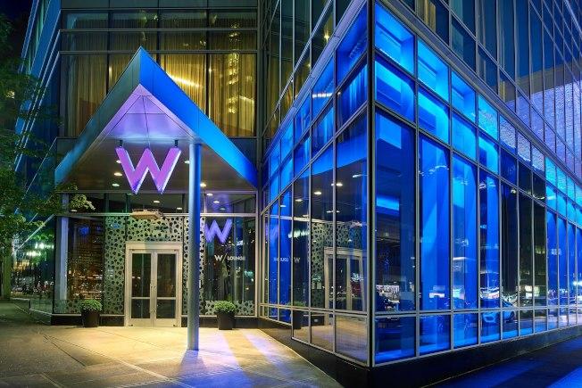 波士頓華埠附近高檔酒店W Hotel今日清晨發生刺傷案,兩人受傷送醫。(取自W Hotel官網)