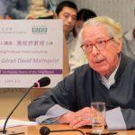 諾貝爾獎終身評委 瑞典漢學家馬悅然辭世