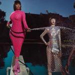 肥胖錯了嗎?Nicki Minaj穿魚網裝 网友:像「火腿腸」