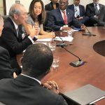 美官員與台駐美代表開會 國務院推文發照