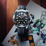 昌興珠寶歐米茄海馬300米詹姆士龐德限量版潛水腕錶