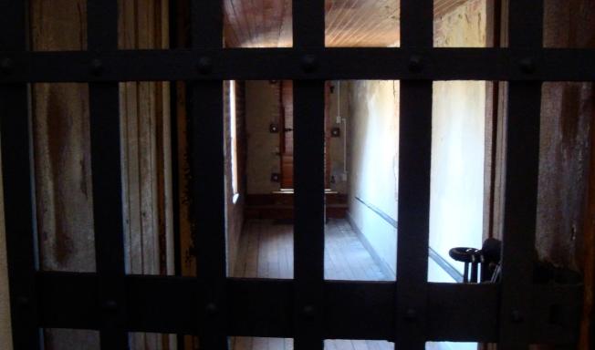 博林頓郡監獄牢房。(取自博物館網站)