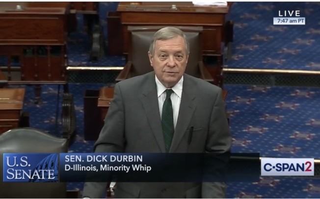 由於伊利諾伊州參議員Dick Durbin的反對,S386再度被阻攔。(資料照片)