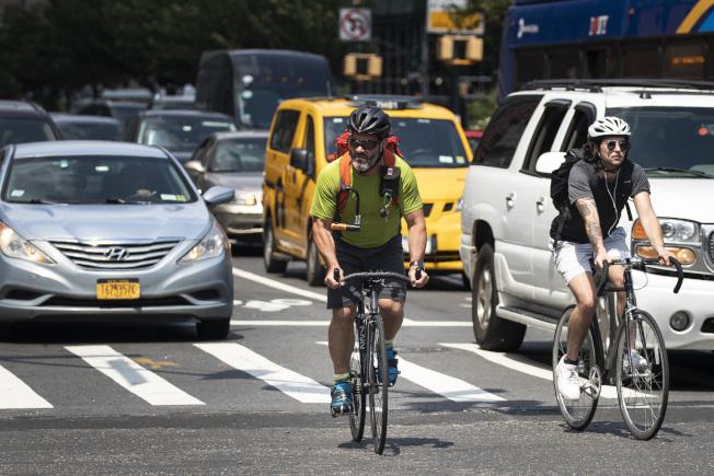 紐約市今年已有25名單車客死於車禍。(Getty Images)