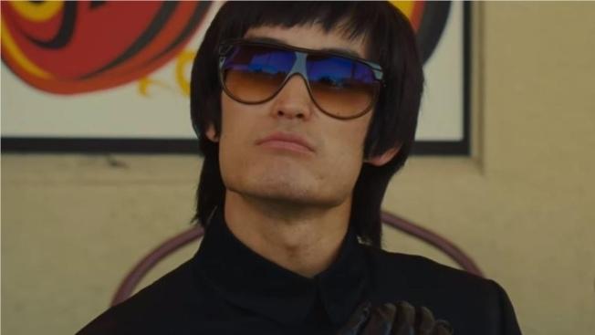 「好萊塢往事」中李小龍的片段爭議,導致影片無緣中國市場。 (索尼公司圖片)