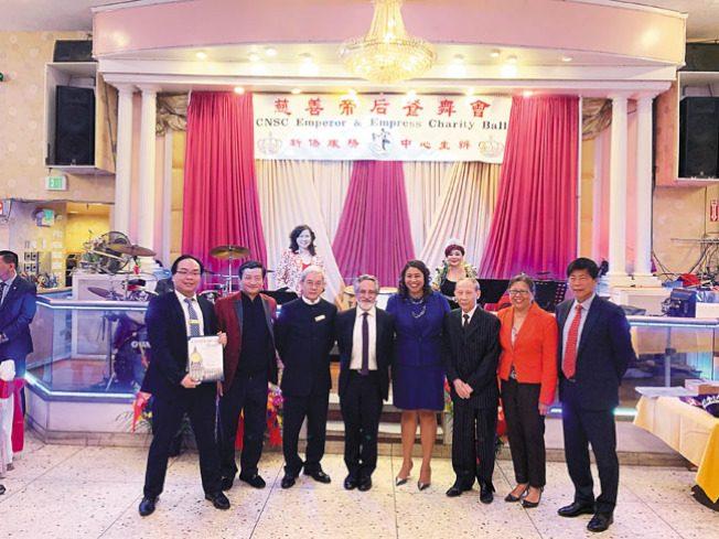 新僑中心50周年晚宴 600人同歡