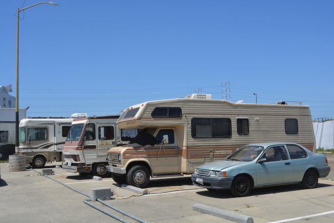 屋崙在今年6月還開放首個全天候的露營車停車場,總共車位50個。(記者劉先進/攝影)