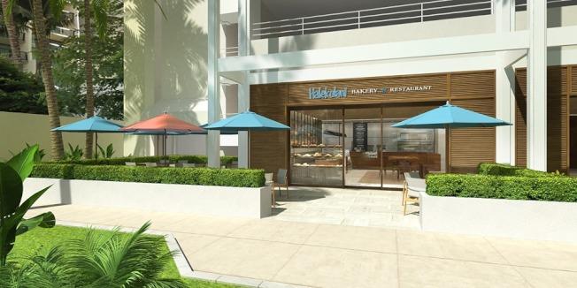 哈利普納精品飯店設有麵包房和餐廳。(圖片取自臉書)