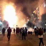 智利示威失控!企業大樓遭縱火 首都進入緊急狀態