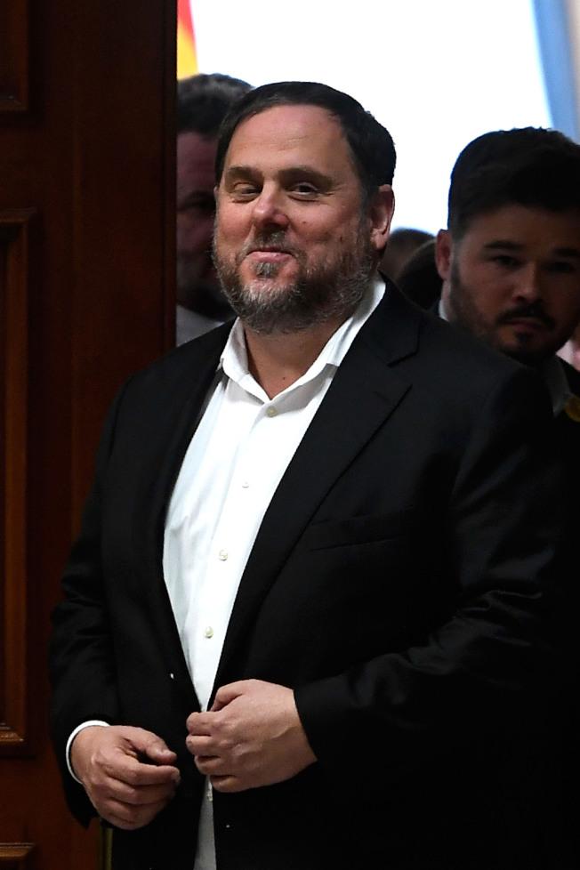 加泰隆尼亞獨派領袖璜克拉斯。(Getty Images)