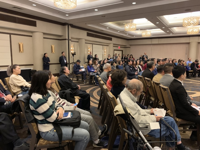 「2019財富管理博覽會」吸引200餘人參與。(記者牟蘭/攝影)