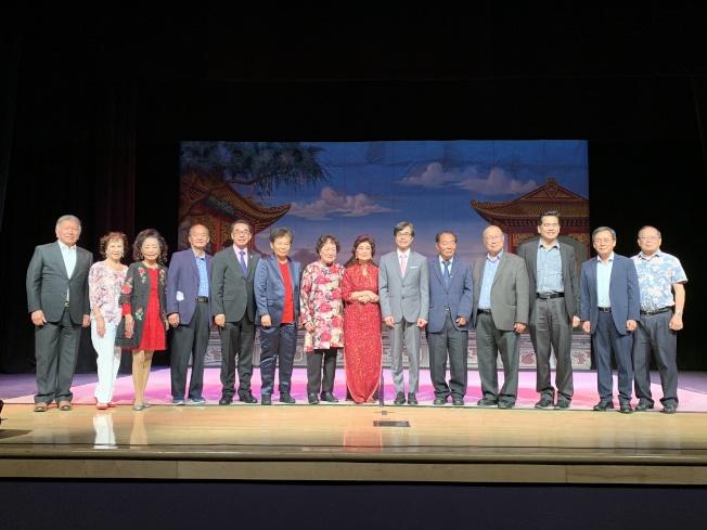 凱旋音樂社成立42周年慶現場合照。(記者王子銘/攝影)