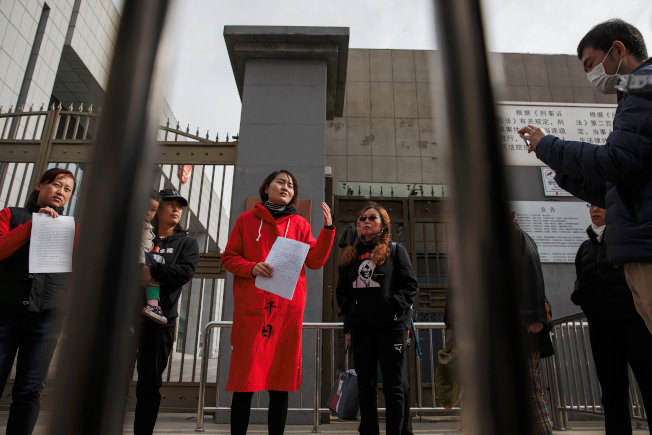 李文足探視獄中丈夫後表示,她擔心獄方刻意傷害王全璋。(路透資料照片)