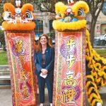 地檢長辦公室資源展 樂素詩華埠宣傳防範金光黨