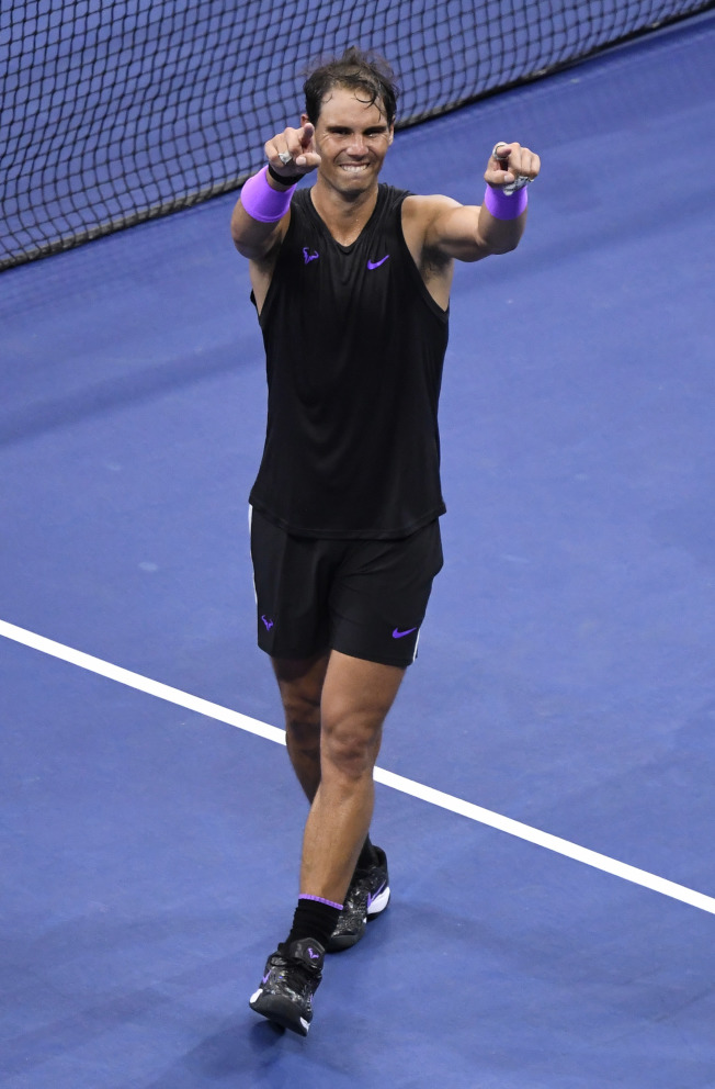西班牙網球名將納達爾加入已婚人士行列。(路透)