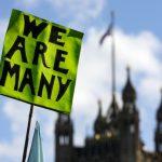 反脫歐數萬群眾上街頭要求二次公投