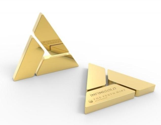 澳洲伯斯鑄幣廠利用區塊鏈技術推出數位黃金代幣。(取材自伯斯鑄幣廠)