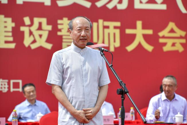 海航集團董事長陳峰。(中新社資料照片)