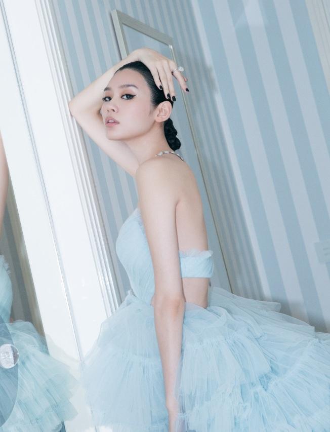 奚夢瑤入選福布斯(Forbes)中國30歲以下精英榜。(圖:Boucheron提供)