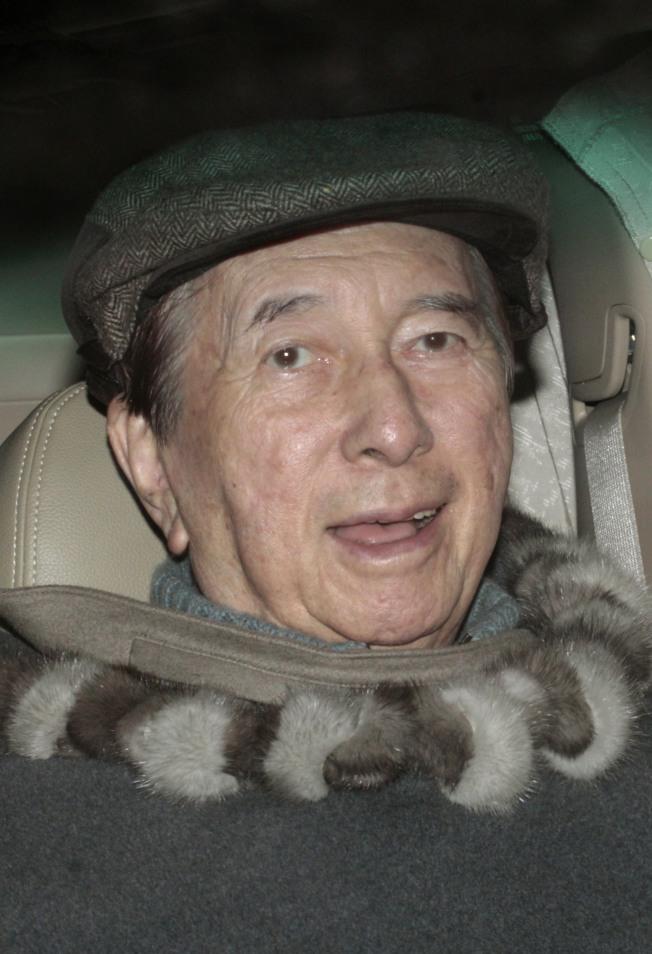 即將98歲的賭王何鴻燊。(路透資料照片)