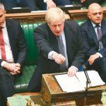 英相強生脫歐協議國會卡關 工黨將推動修法