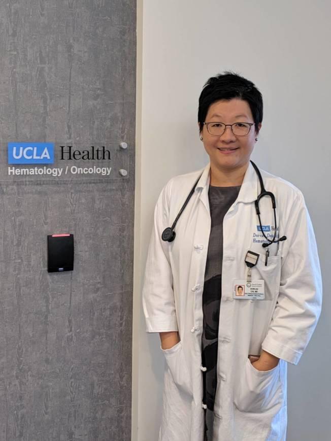 齊多佳醫師為乳癌專家。(記者蕭永群/攝影)