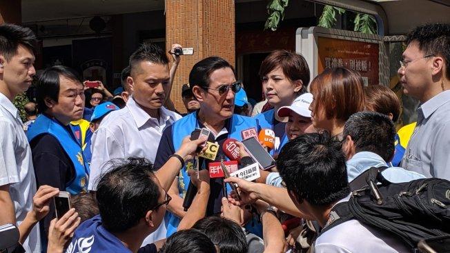 馬英九總統近日針對蔡政府拒收陳同佳一案,砲火猛烈。(本報資料照片)