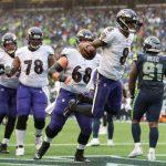NFL/四分衛對決 烏鴉傑克森「跑」贏海鷹威爾森
