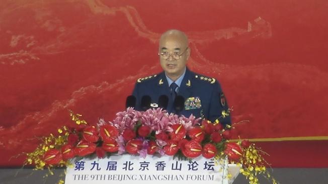 中共中央軍委副主席許其亮向美國喊話:「無論冷戰、熱戰還是貿易戰,都是沒有出路的」。(中央社)