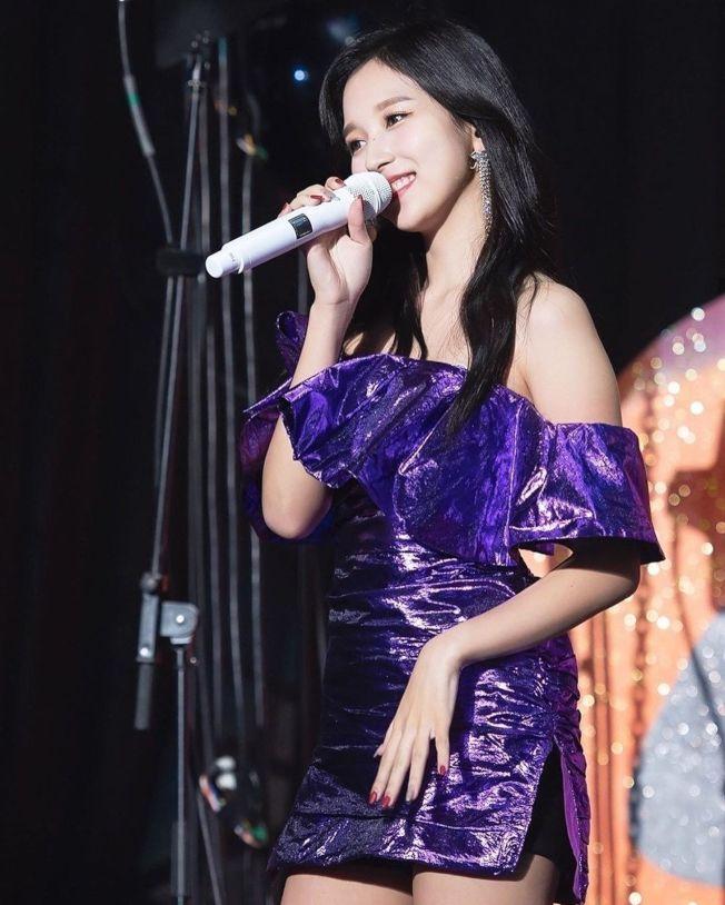 Mina光是登台就已經讓粉絲非常驚喜。(取材自Instagram)