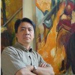 「新銳藝術家」朱瑜明畫展 分享生活喜悅