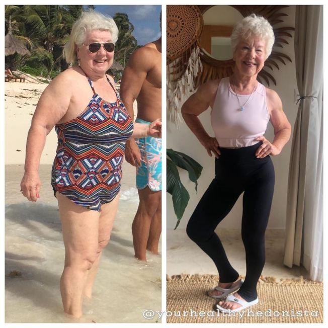 70歲才開始健身,這個看似不可能的任務卻被老奶奶Joan MacDonald完成了。(取自Instagram)