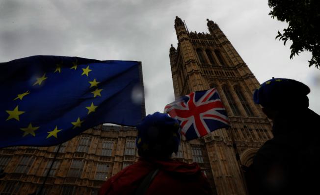 英國「星期泰晤士報」今天引述外交消息人士報導,英國首相強生的脫歐新方案若本週無法獲得英國國會通過,歐洲聯盟(EU)將同意讓英國脫歐時間延後至明年2月。 美聯社