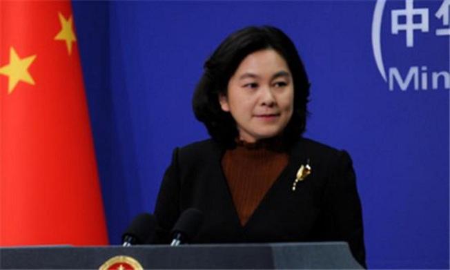 中共外交部發言人華春瑩21日主持例行記者會。圖/人民日報
