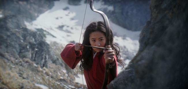 劉亦菲個人言論讓「花木蘭」成為箭靶。圖/摘自imdb