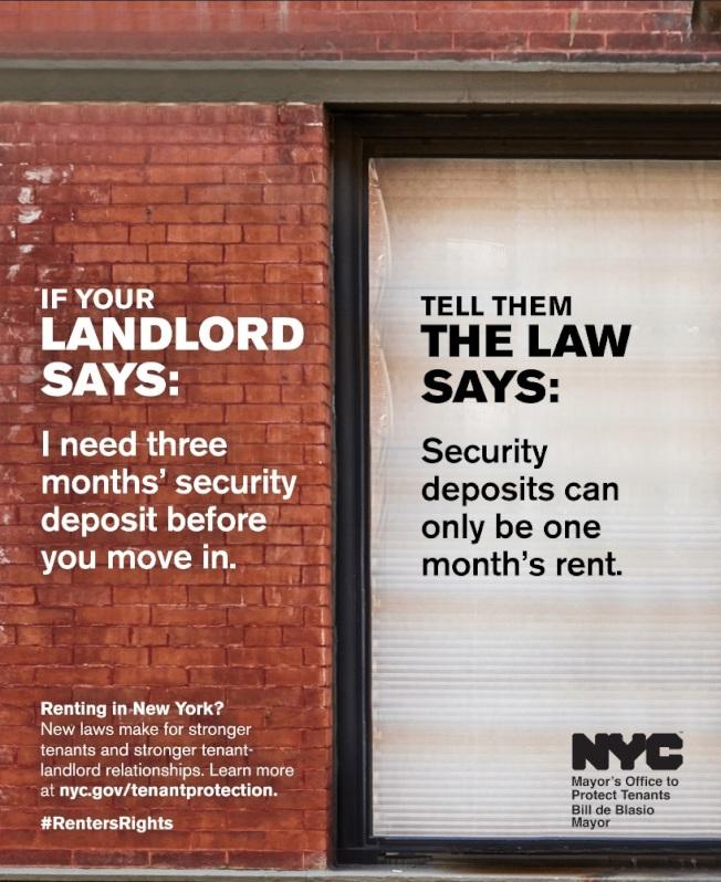 為確保民眾了解「住房穩定和租戶保護法」新規,市府即日起啟動宣傳活動。(市長辦公室提供)