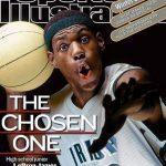 NBA/小皇帝高中球衣 上過封面以「史上最高價」賣出!