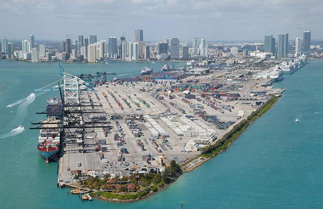 邁阿密港每年為南佛羅里達州的經濟貢獻近170億元。(邁阿密港提供)