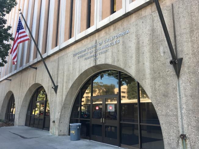 台灣男子賈樹德涉及兩名聯邦緝毒探員遇害案是否該重審,21日上午在巴沙迪那高等法院開庭。(記者謝雨珊/攝影)