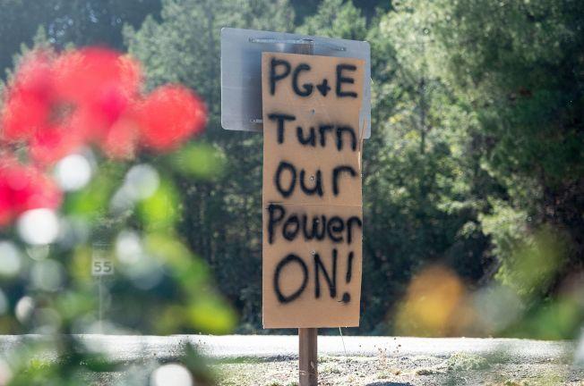 太平洋瓦電本周可能再採取斷電措施。(Getty Images)