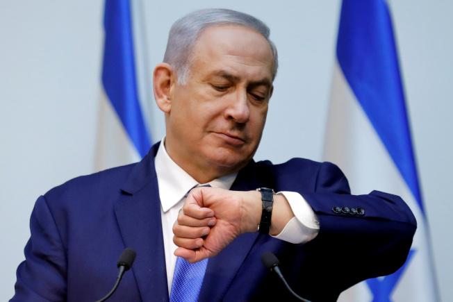 以色列總理內唐亞胡無法在國會取得多數支持,放棄組閣。(路透)