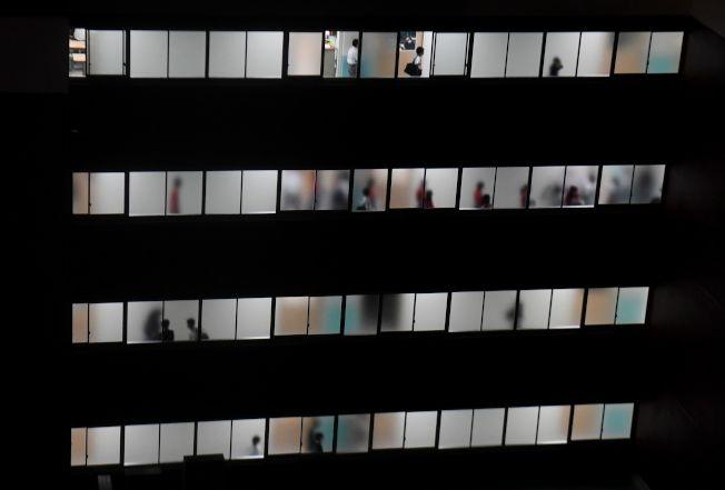 東京某學校大樓。Getty Images
