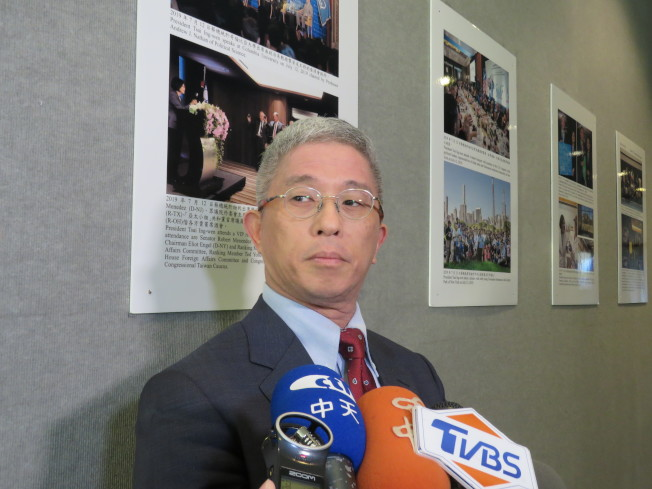 台灣外交部政務次長徐斯儉。華盛頓記者張加/攝影