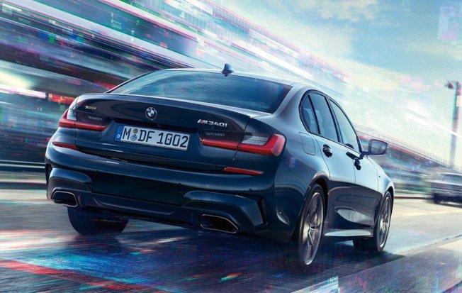全新G20世代的BMW M340i xDrive。 摘自BMW